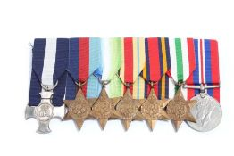 Second World War Distinguished Service Cross (D.S.C.) Gallantry medal group, comprising D.S.C. (Hall