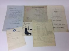 The Coronation of H.M. King George VI , May 12 th 1937 - a fascinating group of ephemera sent to The