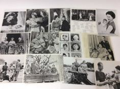 H.M Queen Elizabeth II , collection of Royal press photographs of The Queen and her family including