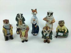 Selection of Rye pottery figures