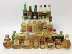 Whisky - twenty-seven miniatures