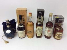 Whisky - Longmore Glenlivet, Glenmorangie 10 year, Chivas Royal, Chivas Regal, Glen Grant and Miquer