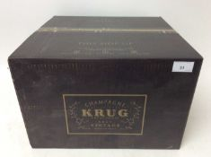 Six bottles, Krug 1998