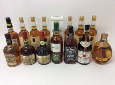 Group whisky including Dalvey, Glen Marnoch and other spirits