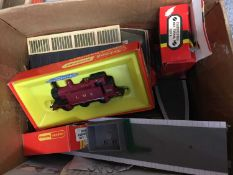 Box of Tri-ang and other toy trains