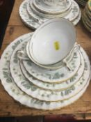 Minton 'Greenwich' pattern dinner service- 51 pieces