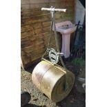 A late Victorian Ransome, Sym & Jefferies Ltd, Ipswich garden roller