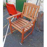 A Rowlinson garden chair