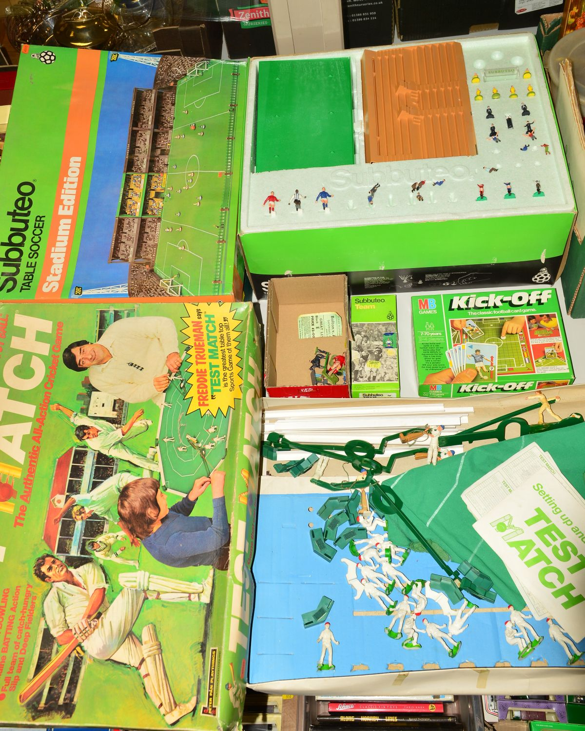 Lot 514 - A BOXED SUBBUTEO STADIUM EDITION SET, from the late 1970's, appears largely complete but is