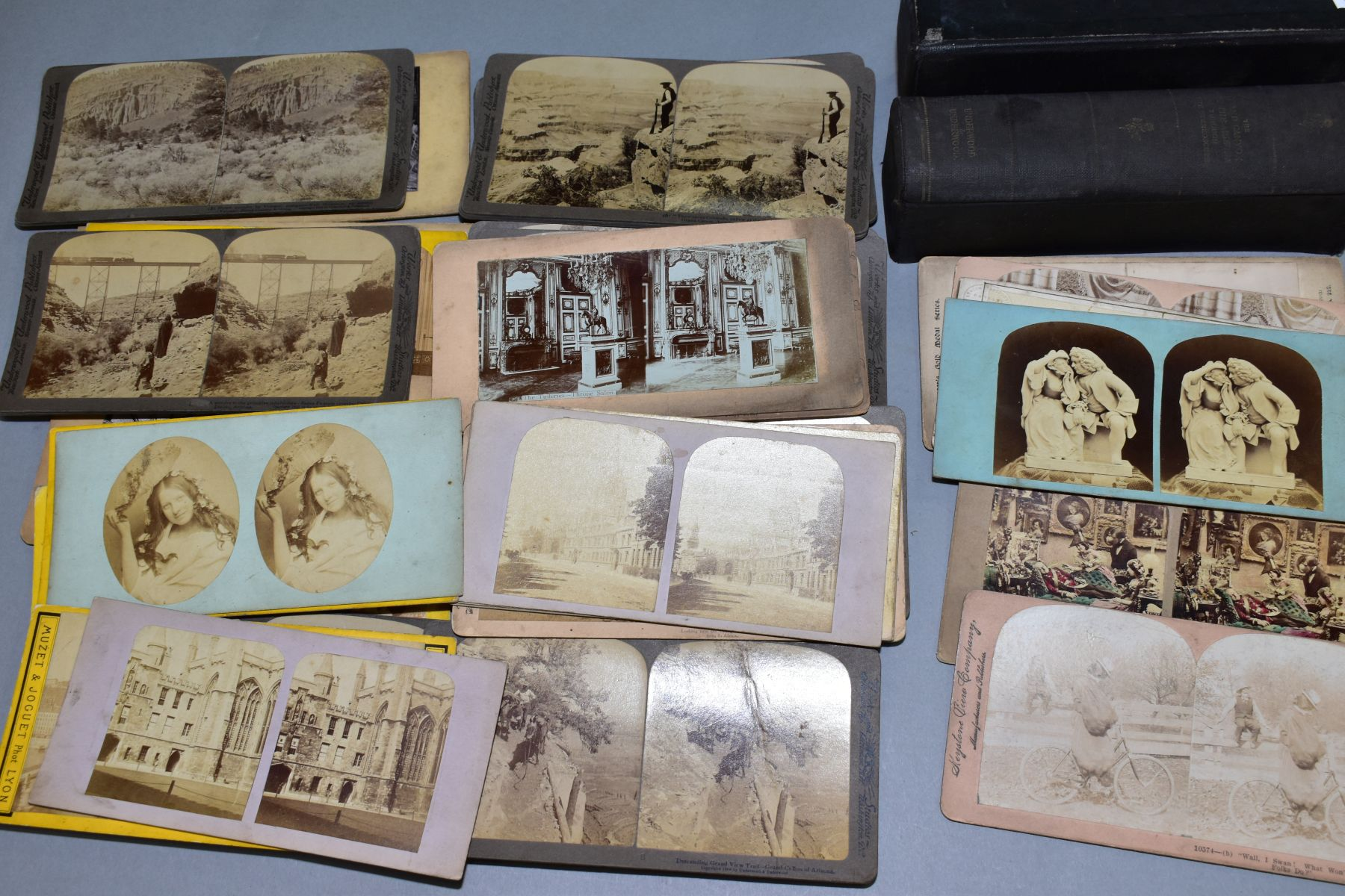A BOXED SET OF UNDERWOOD & UNDERWOOD STEREOVIEW CARDS, 'The Grand Canyon of the Arizona through - Image 2 of 2