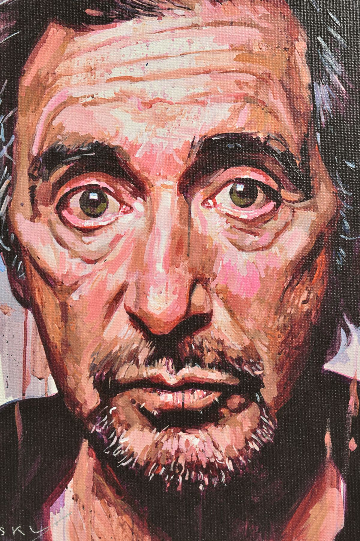 ZINSKY (BRITISH CONTEMPORARY), 'AL Pacino II', a portrait of the film star, a Limited Edition print, - Image 2 of 5