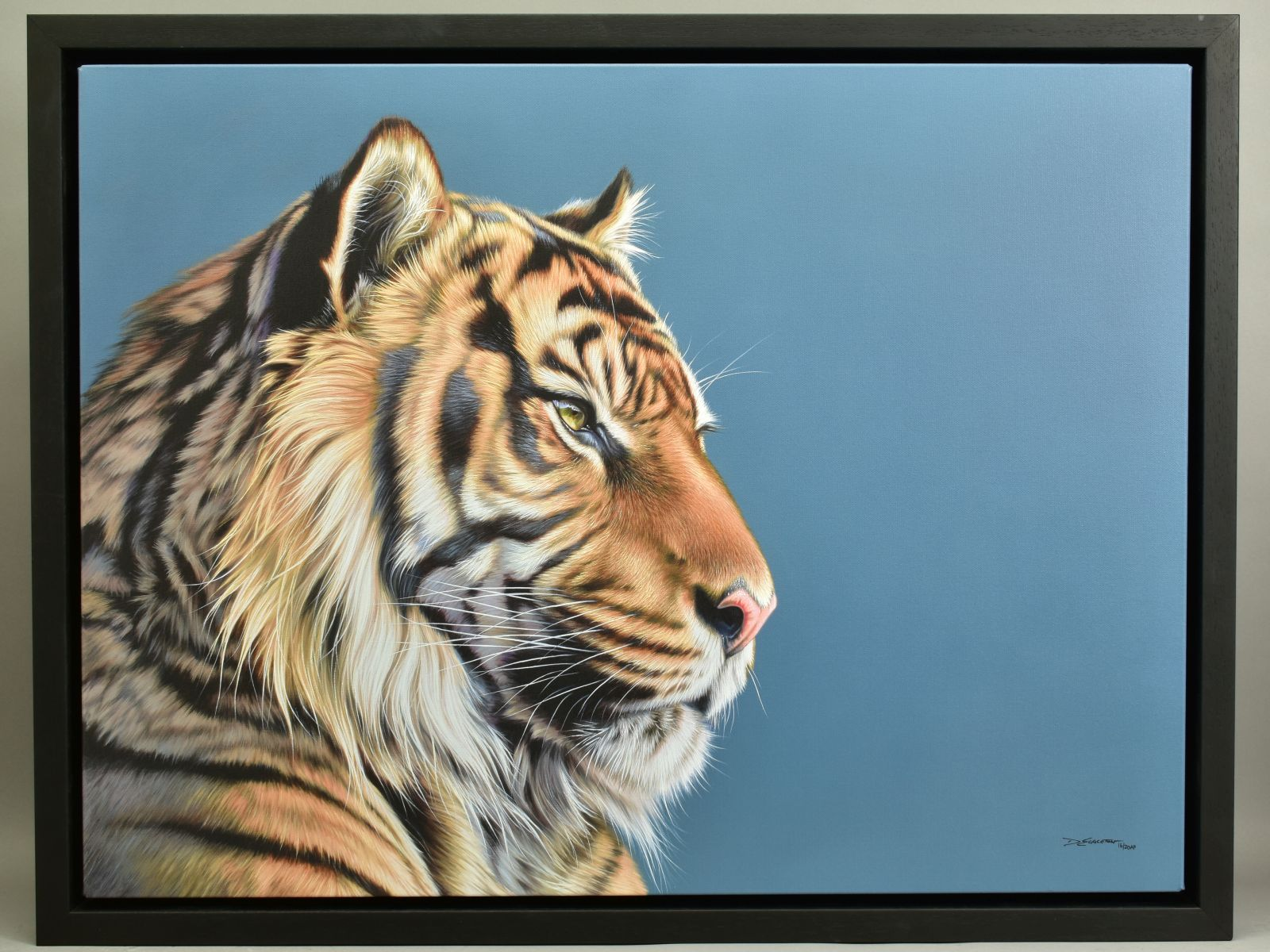 DARRYN EGGLETON (SOUTH AFRICA 1981), 'The Sentinel', an artist proof print of a Tiger, 16/20, signed
