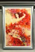 KERRY DARLINGTON (BRITISH 1974), 'Sakura', a Limited Edition 3D print of a female figure, signed