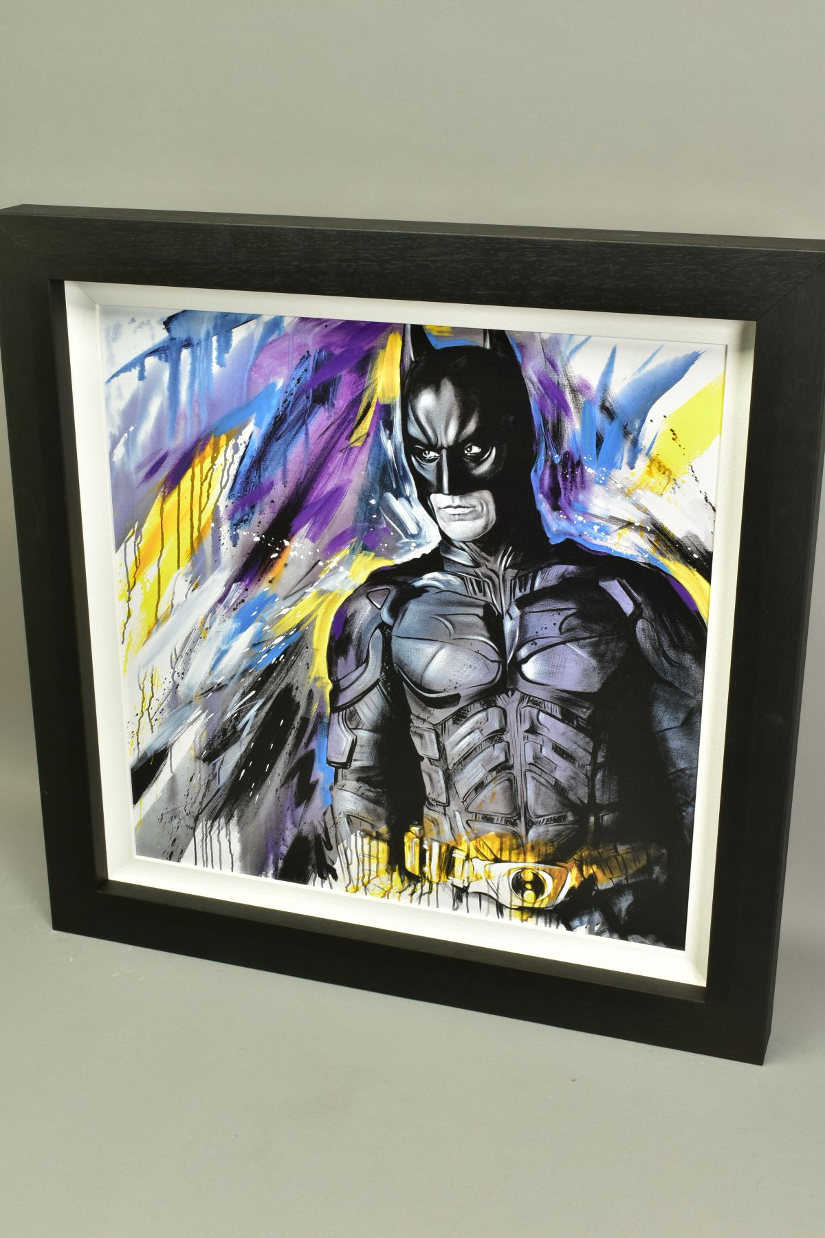 JEN ALLEN (BRITISH 1979), 'Silent Guardian', a Limited Edition print of Batman, 10/195, signed lower - Image 5 of 6
