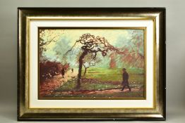 ROLF HARRIS (AUSTRALIAN 1930), 'Early Morning, Embankment', a Limited Edition print, 82/195, a