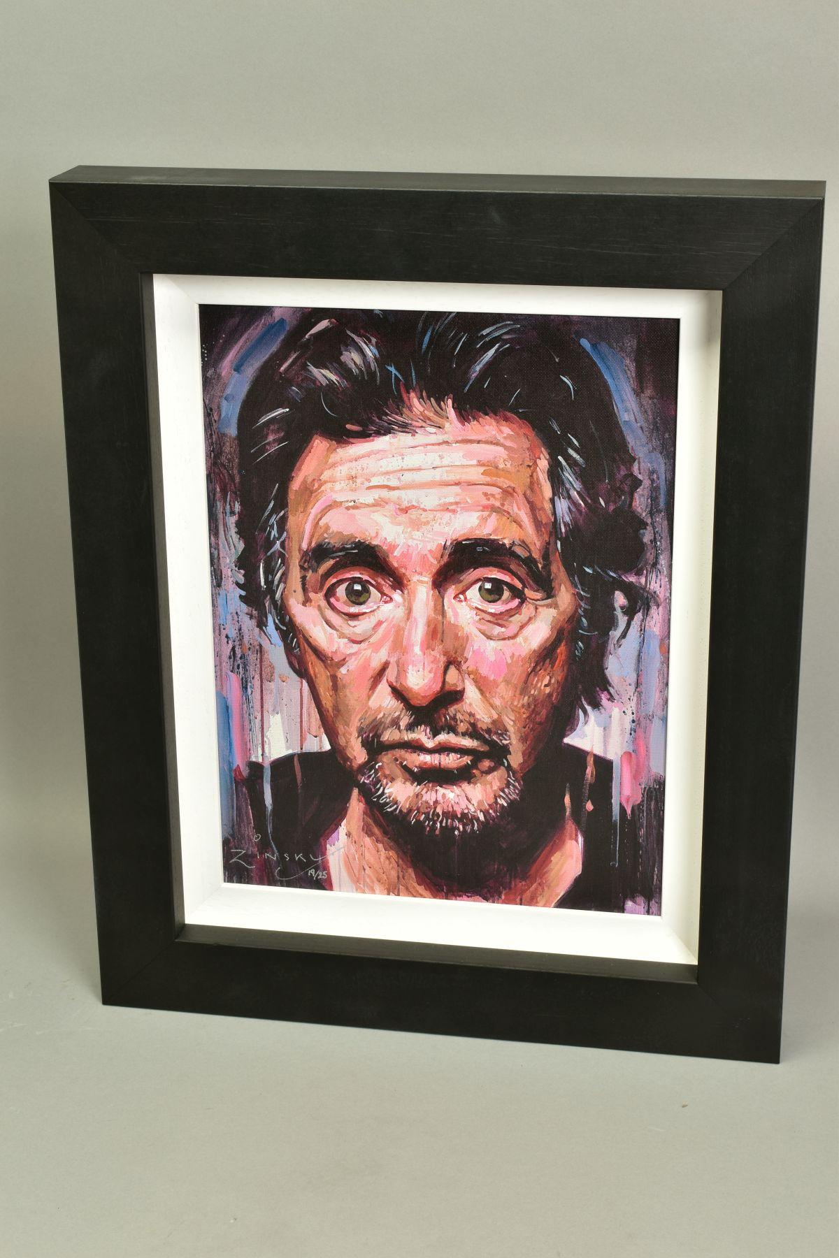 ZINSKY (BRITISH CONTEMPORARY), 'AL Pacino II', a portrait of the film star, a Limited Edition print, - Image 4 of 5