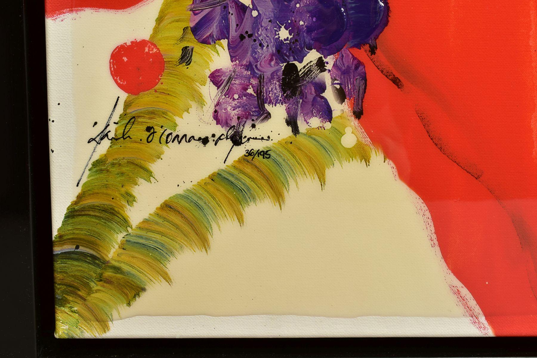 DANIELLE O'CONNOR AKIYAMA (CANADA 1957), 'Journey I', a Limited Edition print of blossom, 36/195, - Image 3 of 5