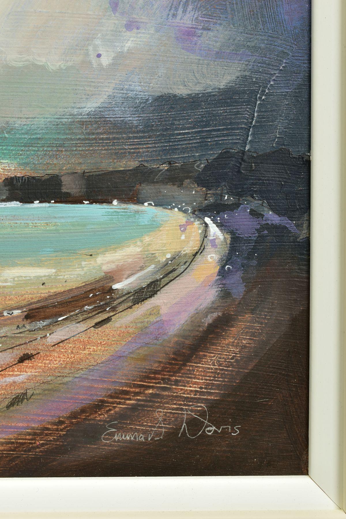 EMMA S. DAVIS (BRITISH 1975), 'Sailing at St Andrews', a Scottish coastal landscape, signed bottom - Image 4 of 6