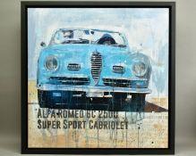 MARKUS HAUB (GERMAN 1972), 'Alfa Romeo 6C 2500 Super Sport Cabriolet', a modern interpretation of