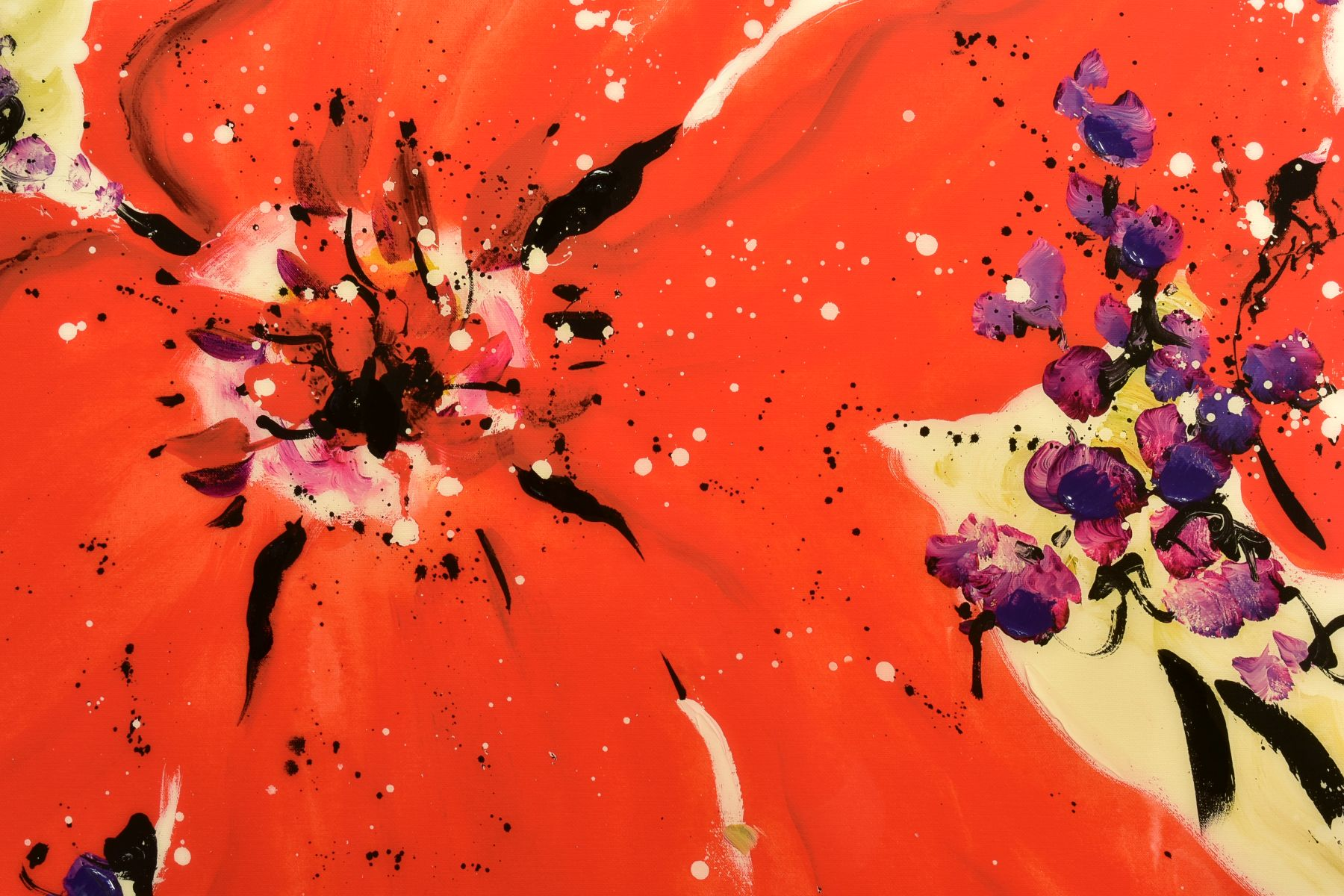 DANIELLE O'CONNOR AKIYAMA (CANADA 1957), 'Journey I', a Limited Edition print of blossom, 36/195, - Image 2 of 5