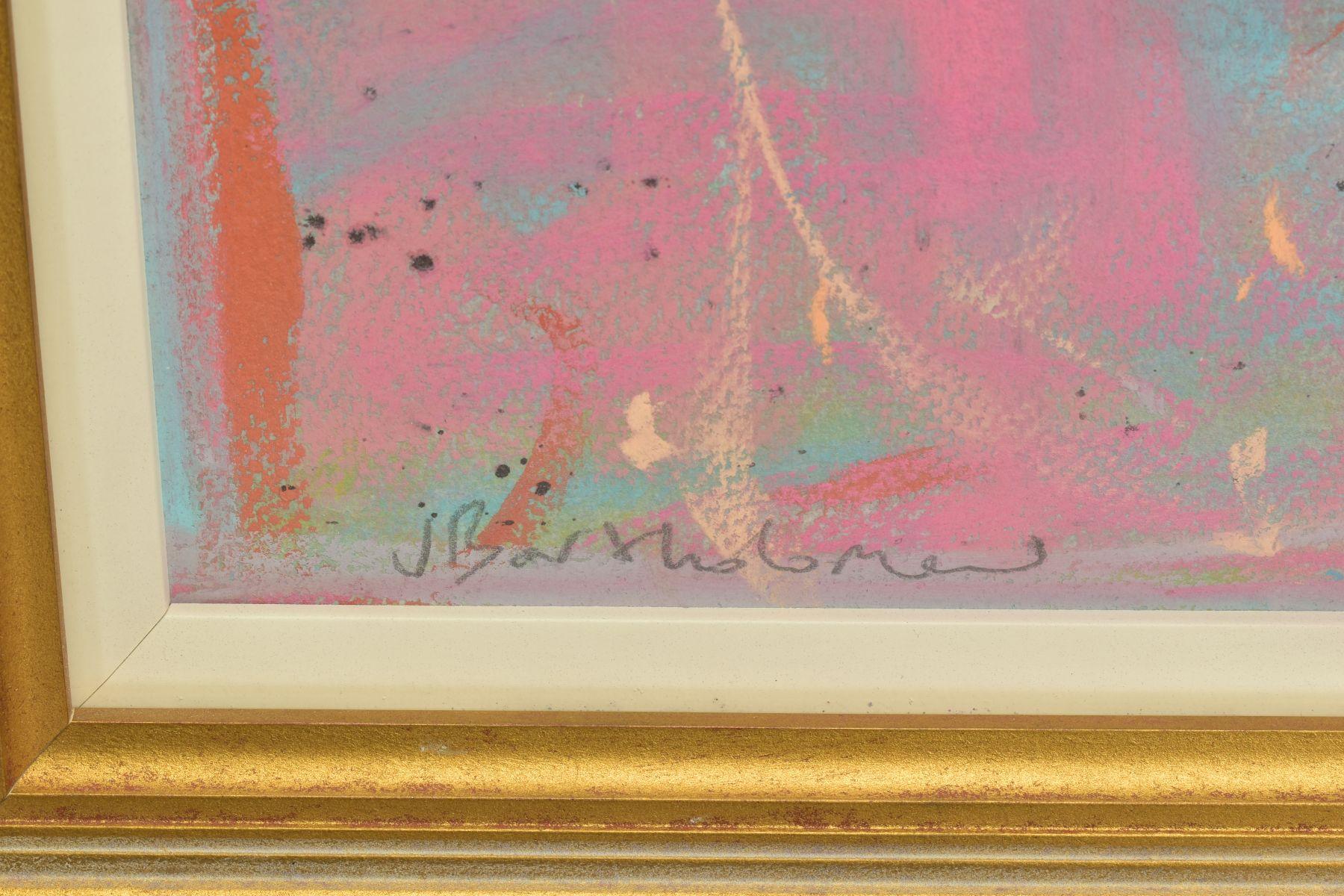 JAMES BARTHOLOMEW (BRITISH CONTEMPORARY), 'Woodpigeons and Rooster', signed bottom left, mixed media - Image 4 of 7