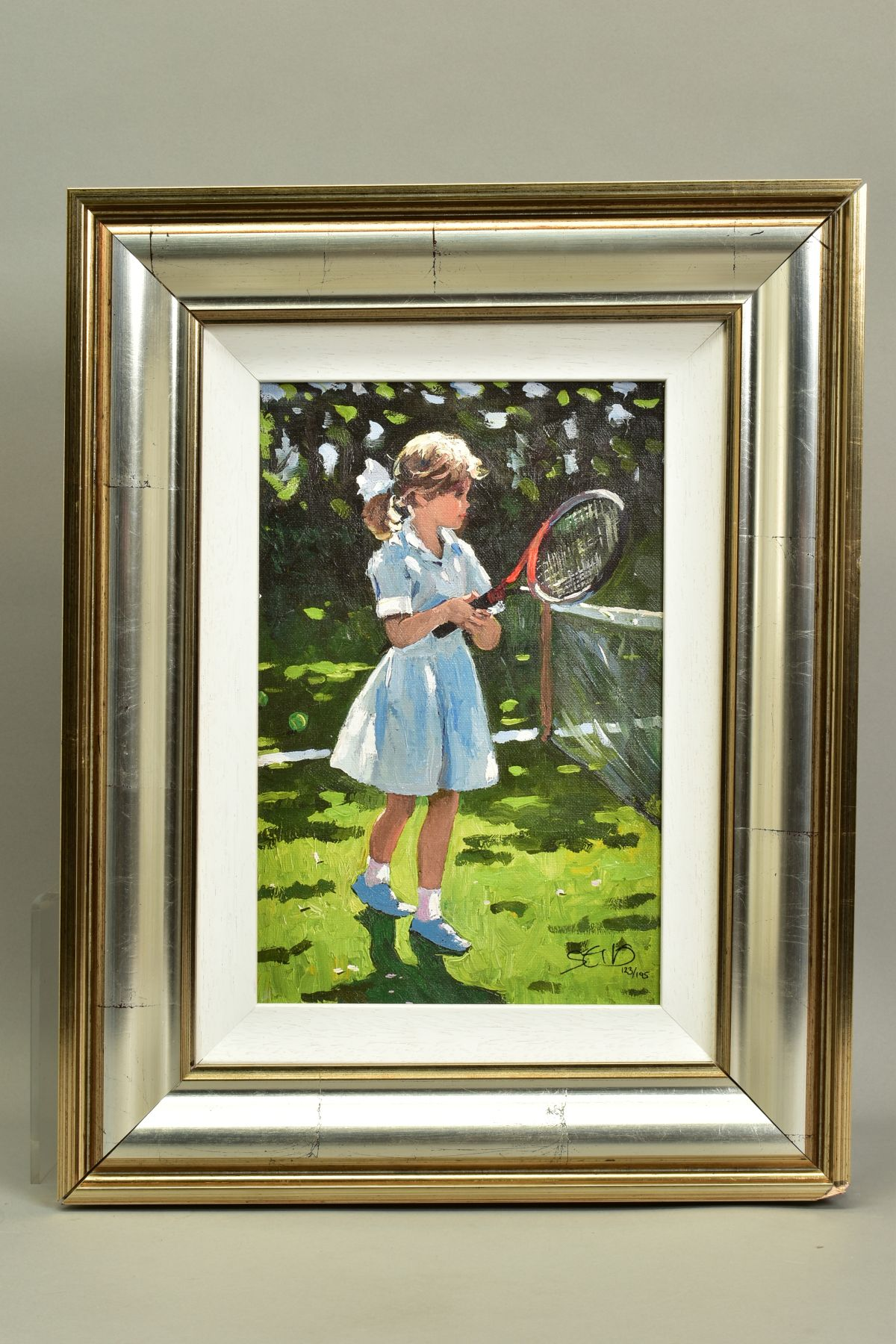 SHERREE VALENTINE DAINES (BRITISH 1959), 'Playful Times I', a Limited Edition print of a young