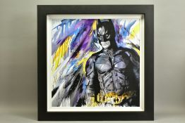 JEN ALLEN (BRITISH 1979), 'Silent Guardian', a Limited Edition print of Batman, 10/195, signed lower