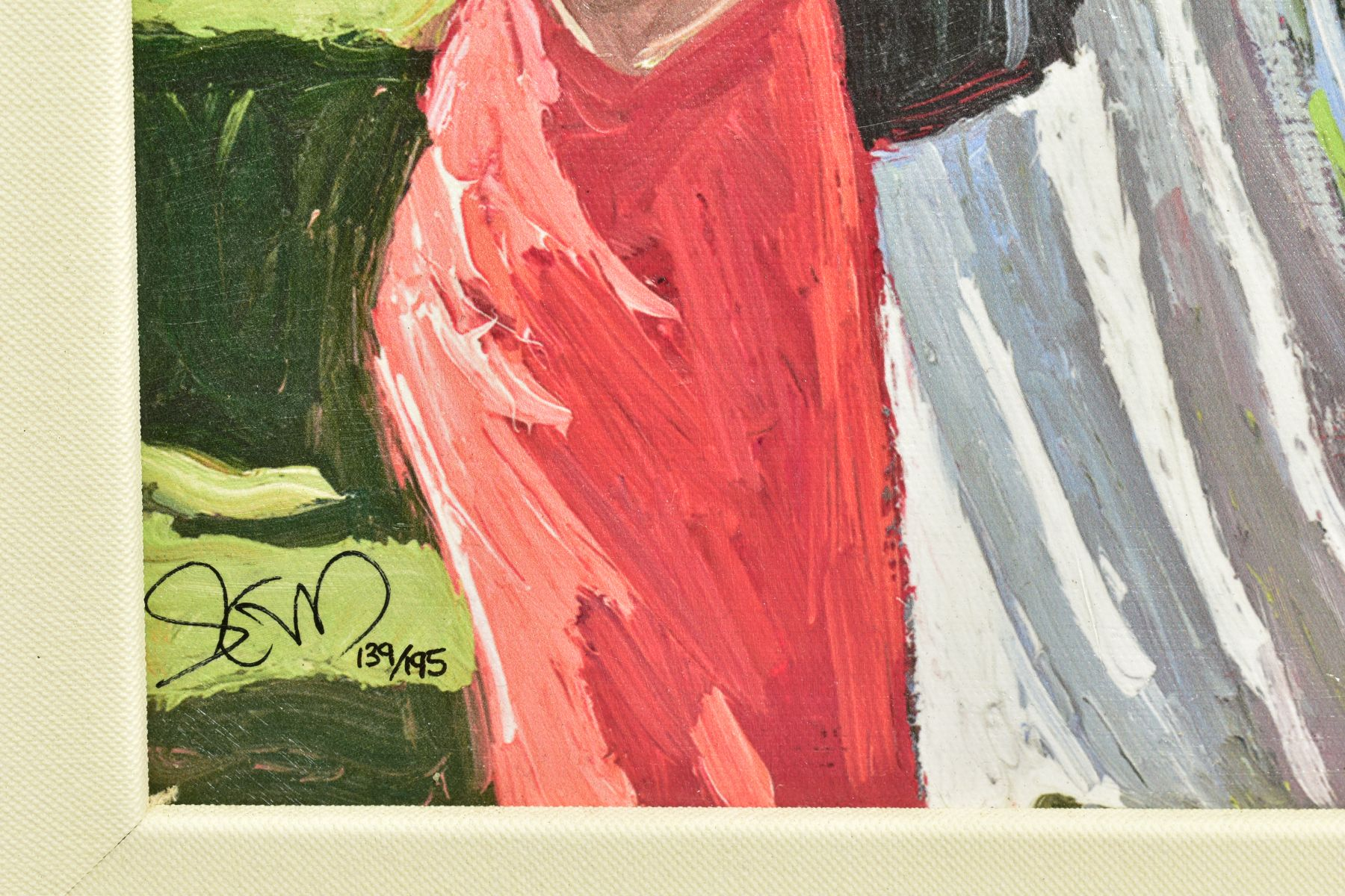 SHERREE VALENTINE DAINES (BRITISH 1959), 'Society Ladies', a Limited Edition print of female figures - Image 4 of 6