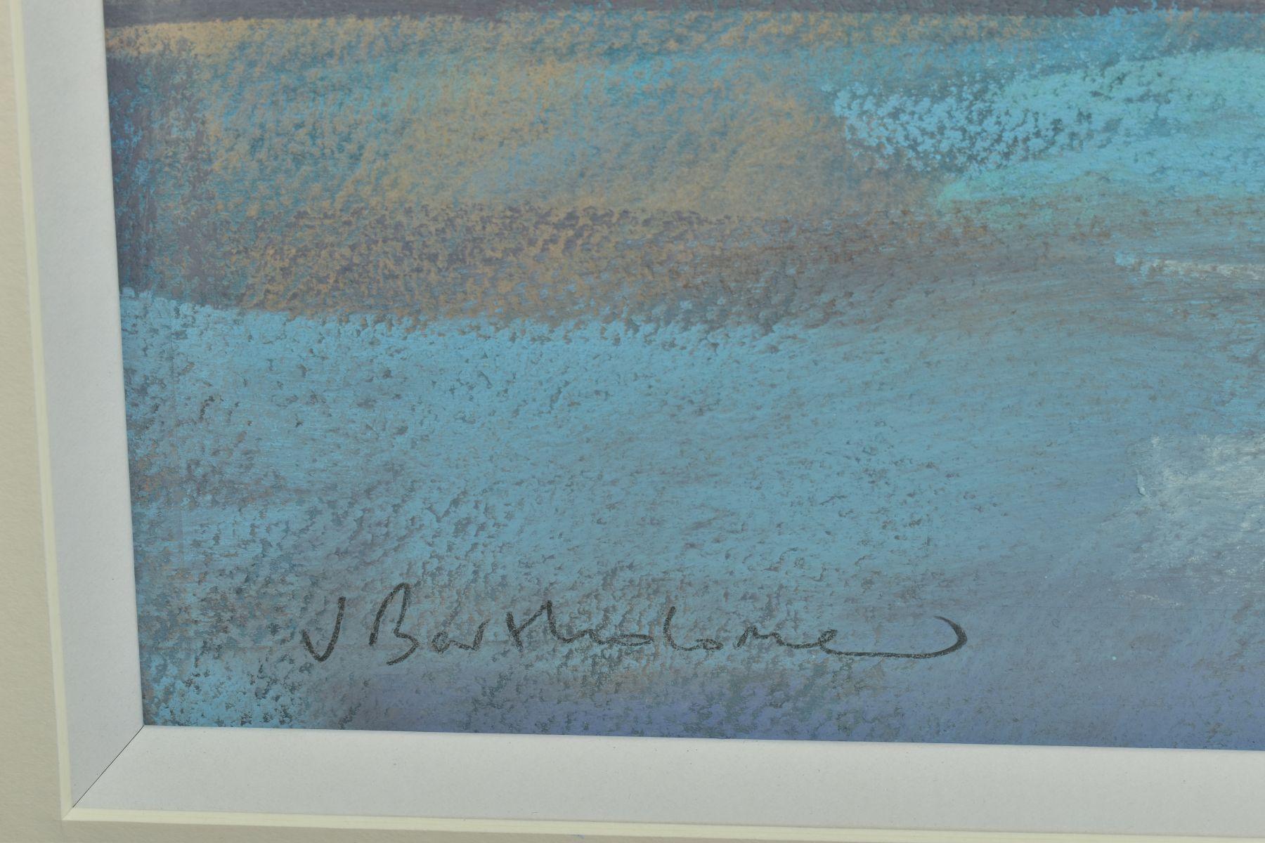 JAMES BARTHOLOMEW (BRITISH CONTEMPORARY), 'Shining Bay', a coastal landscape, signed bottom right, - Image 4 of 6