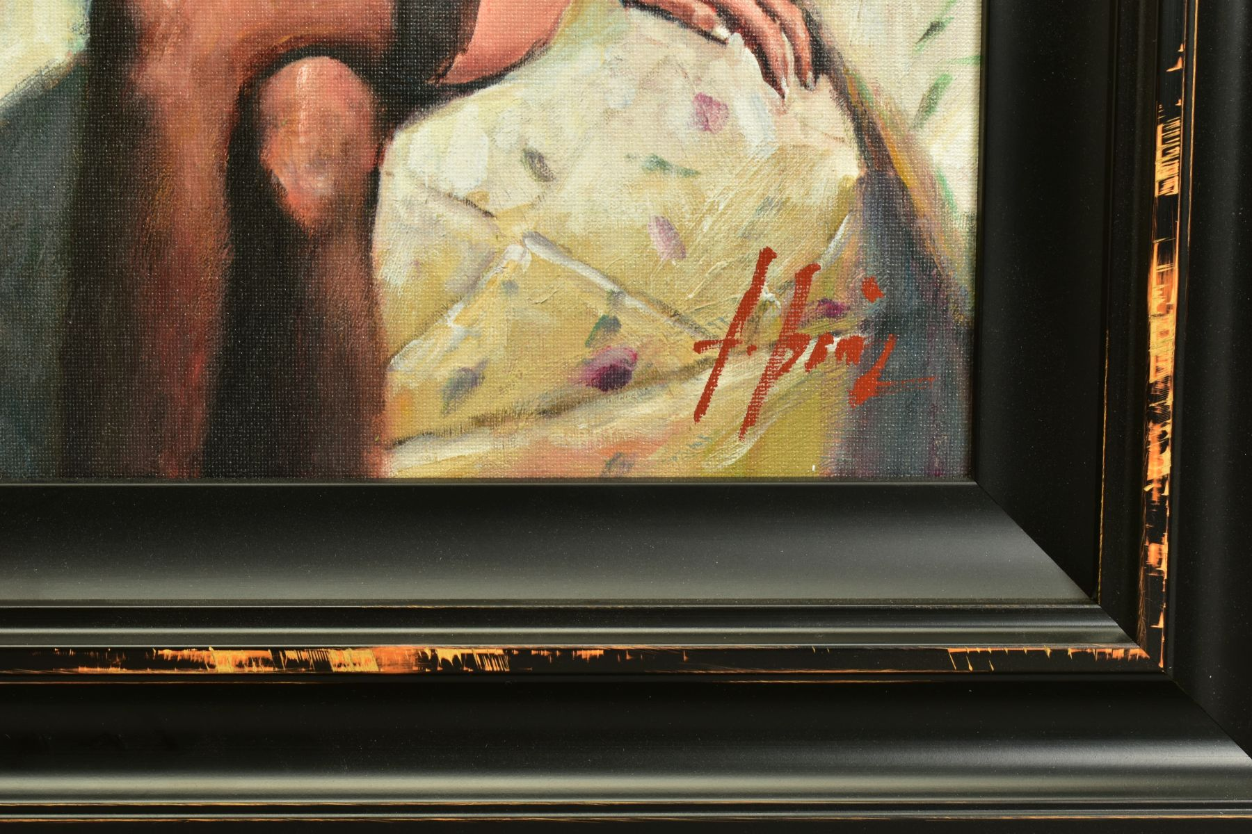 FABIAN PEREZ (ARGENTINA 1967), 'Kayleigh at The Ritz', a Limited Edition print of a female figure, - Image 4 of 8