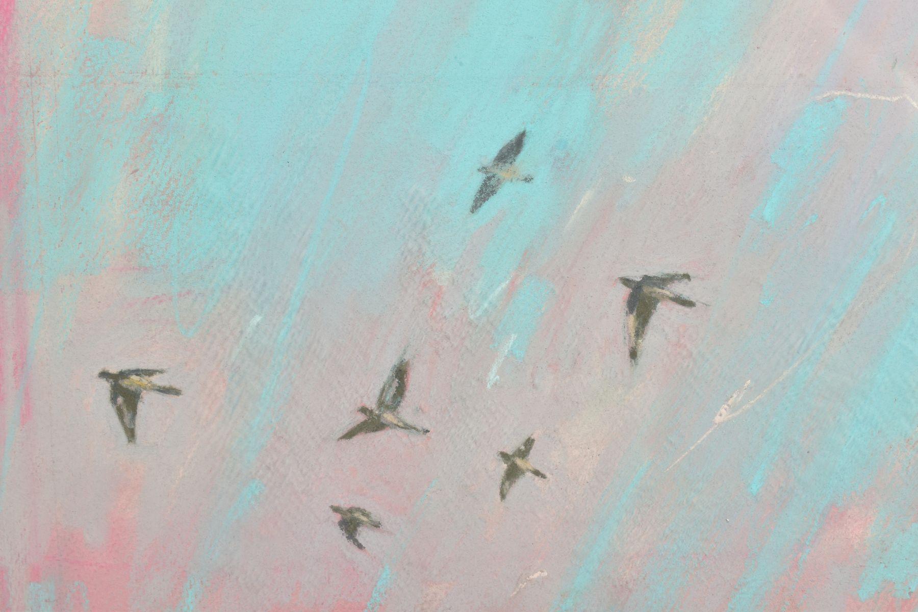 JAMES BARTHOLOMEW (BRITISH CONTEMPORARY), 'Woodpigeons and Rooster', signed bottom left, mixed media - Image 3 of 7