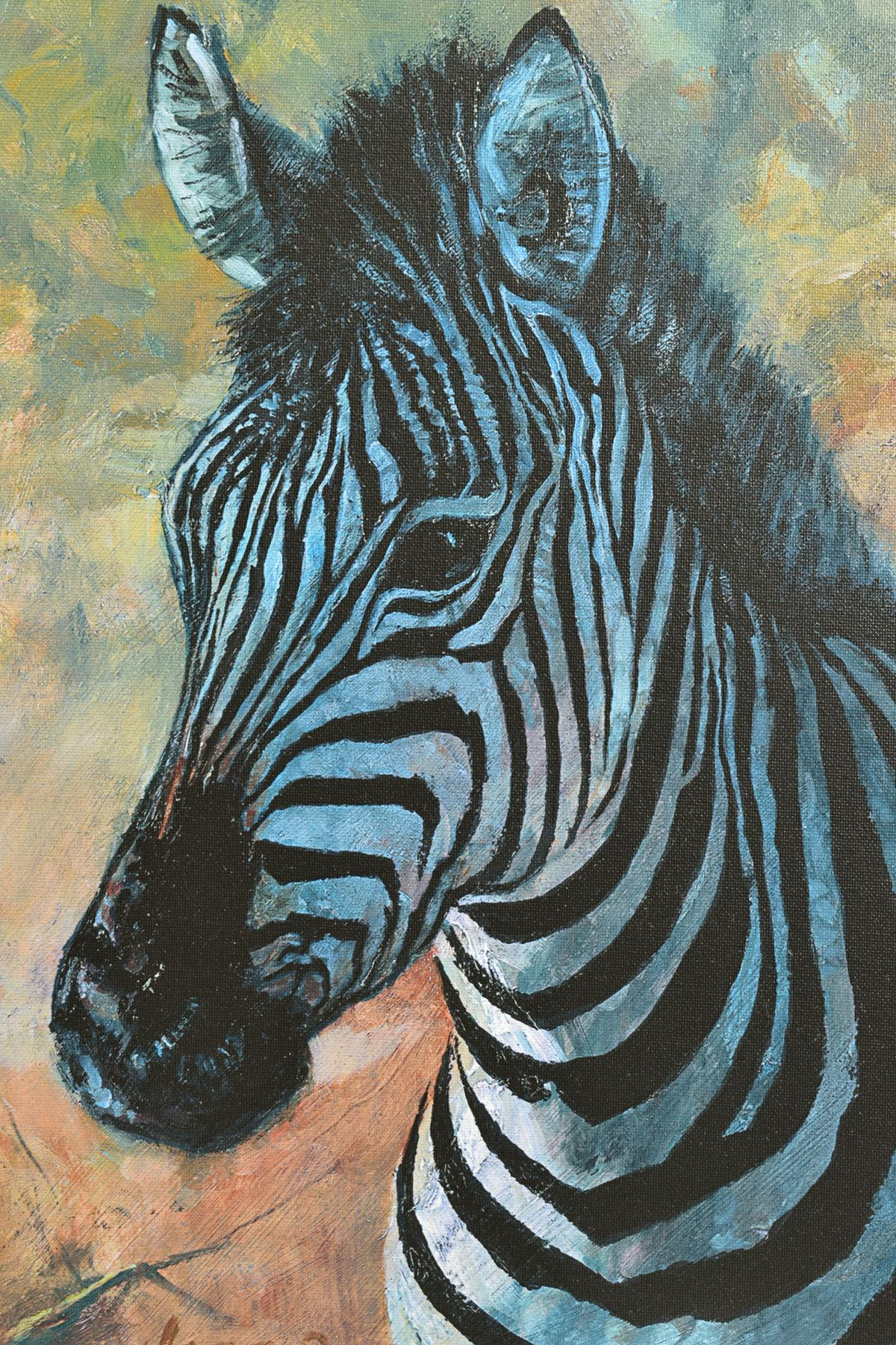 ROLF HARRIS (AUSTRALIAN 1930), 'Young Zebra', a Limited Edition print, 91/195, signed top right with - Image 2 of 5