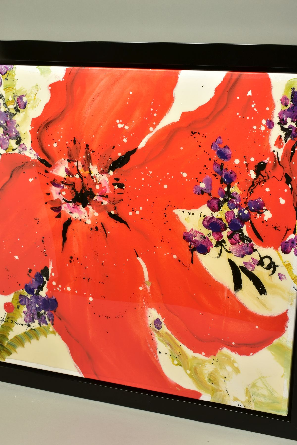DANIELLE O'CONNOR AKIYAMA (CANADA 1957), 'Journey I', a Limited Edition print of blossom, 36/195, - Image 4 of 5