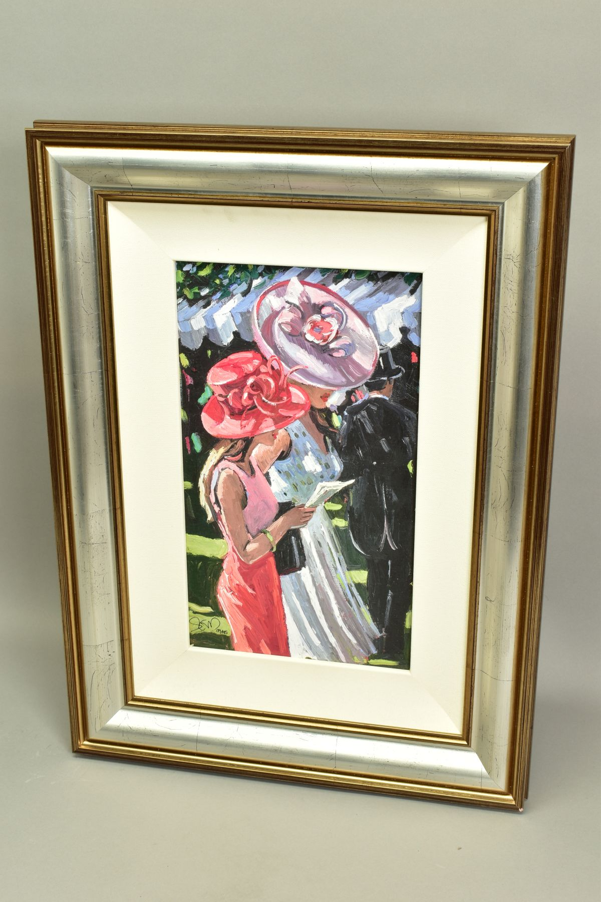 SHERREE VALENTINE DAINES (BRITISH 1959), 'Society Ladies', a Limited Edition print of female figures - Image 5 of 6