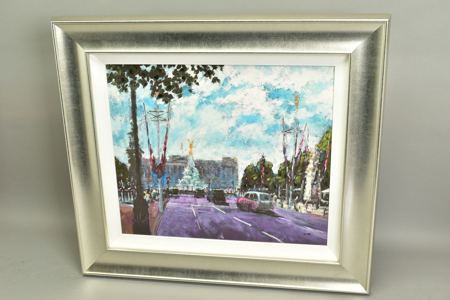 TIMMY MALLETT (BRITISH CONTEMPORARY), 'Celebrating On The Mall', a Limited Edition print of a London - Image 4 of 7