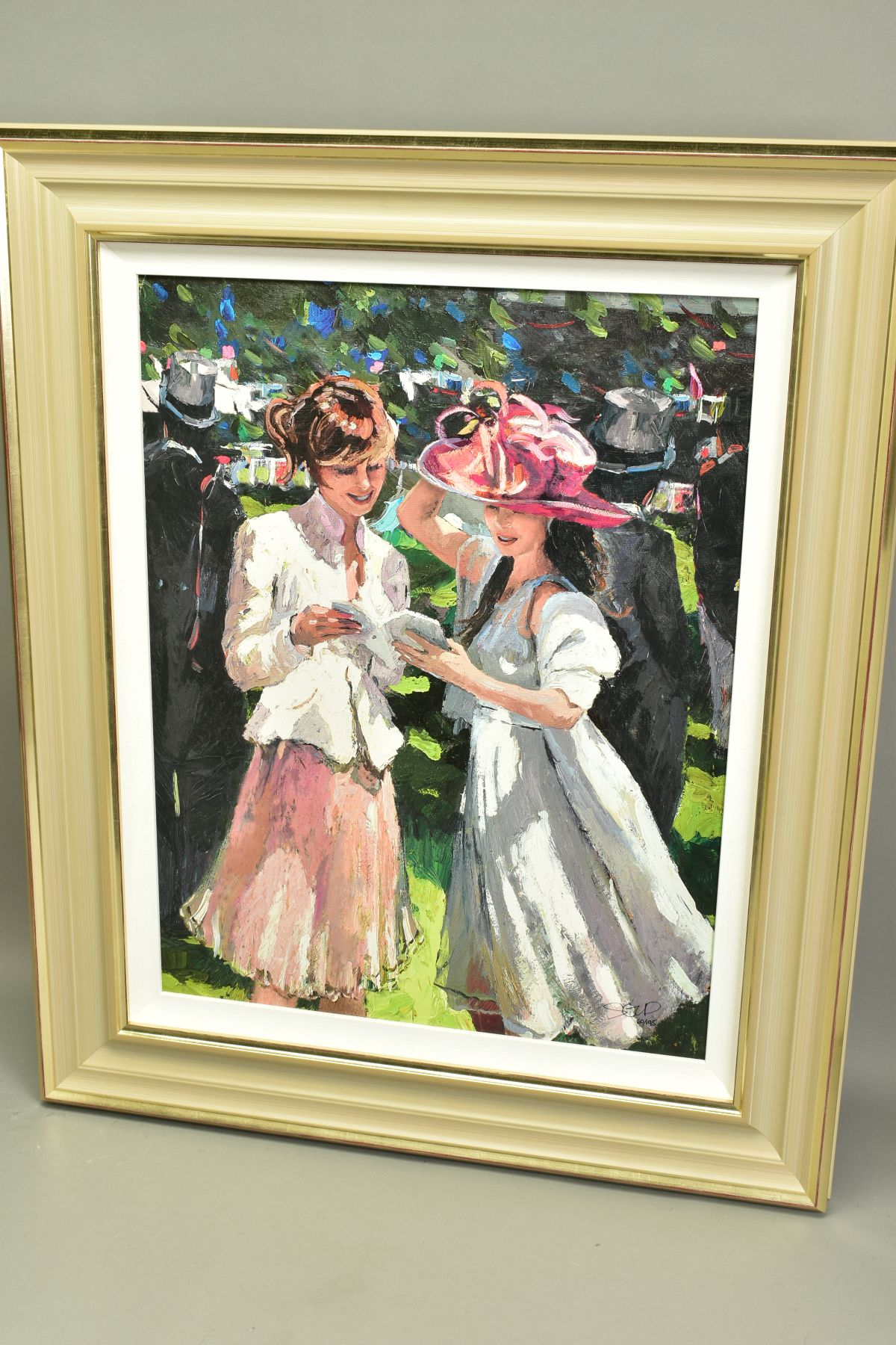 SHERREE VALENTINE DAINES (BRITISH 1959), 'Royal Ascot, Ladies Day II', a Limited Edition print, 60/ - Image 5 of 6