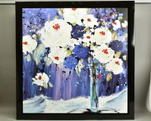DANIELLE O'CONNOR AKIYAMA (CANADA 1957), 'Beauty', a Limited Edition print of flowers in a vase,