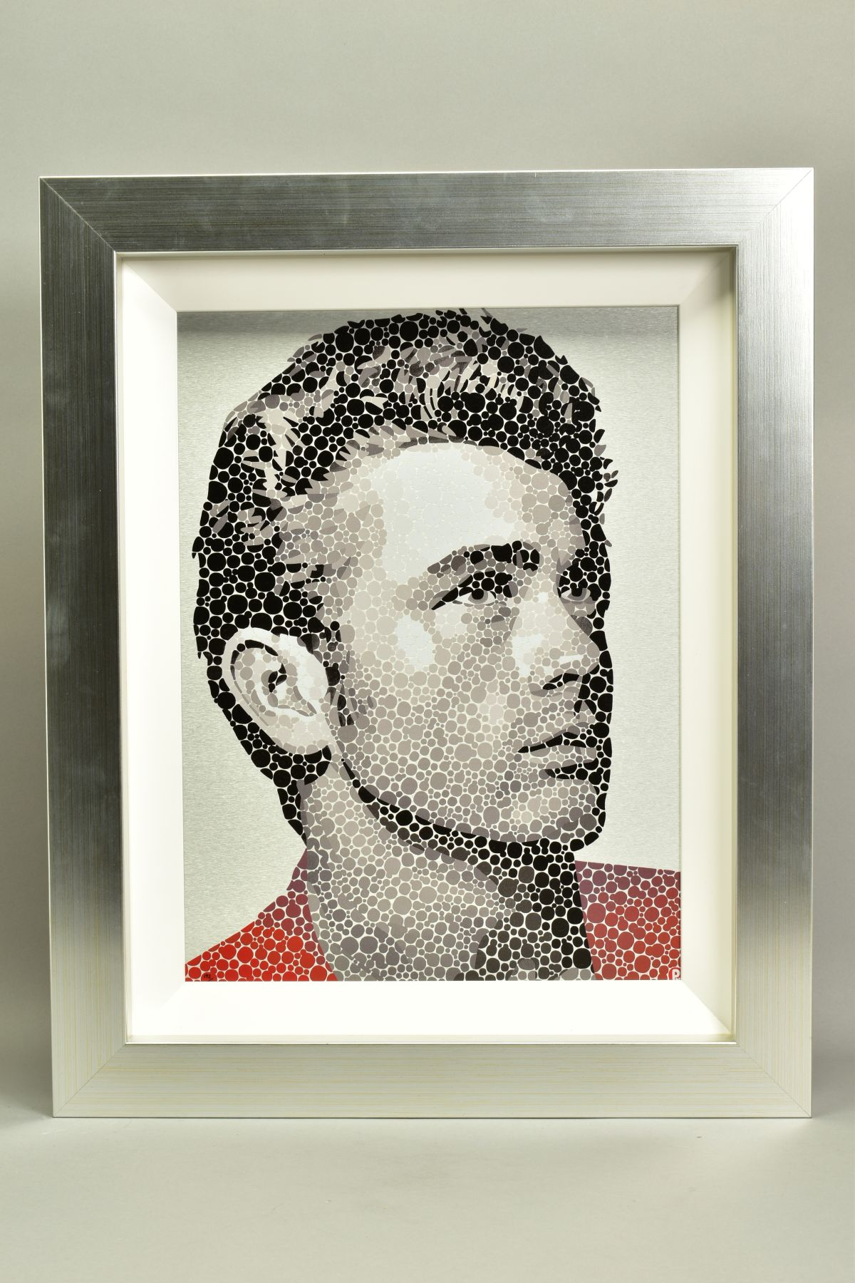 PAUL NORMANSELL (BRITISH 1978), 'James Dean, The Rebel', a Limited Edition print on aluminium,