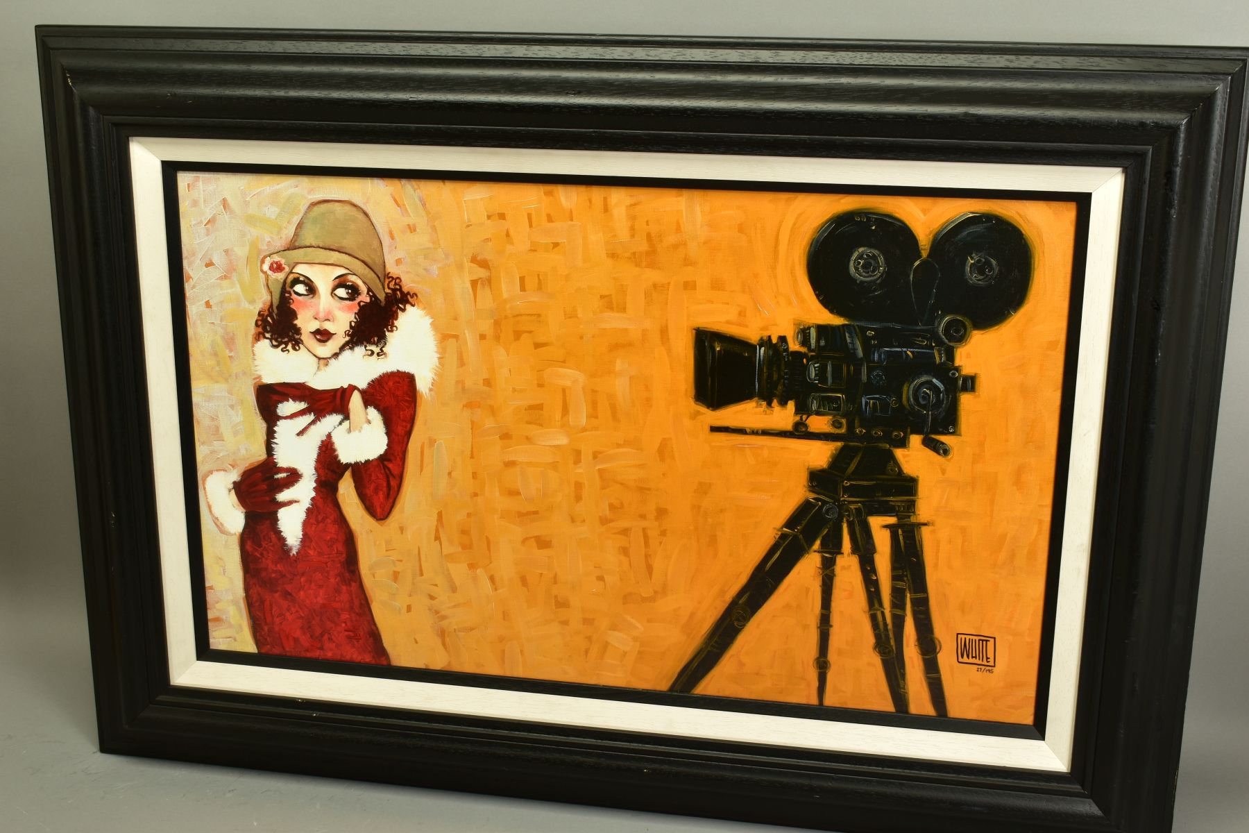 TODD WHITE (AMERICAN 1969), 'Her First Screen Test', a Limited Edition print of a female figure, - Image 4 of 9