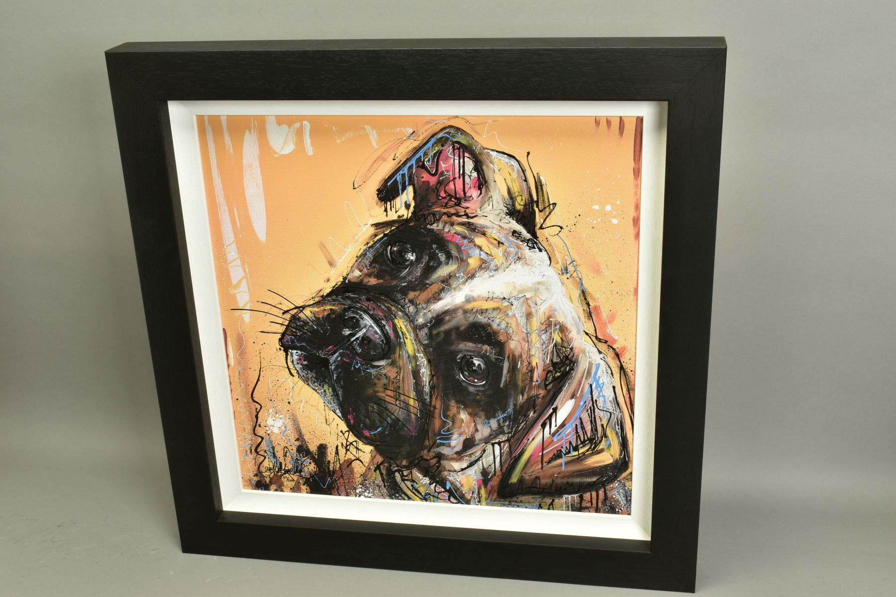 SAMANTHA ELLIS (BRITISH 1992), 'All Ears', a Limited Edition print of a small dog, signed bottom - Image 5 of 6