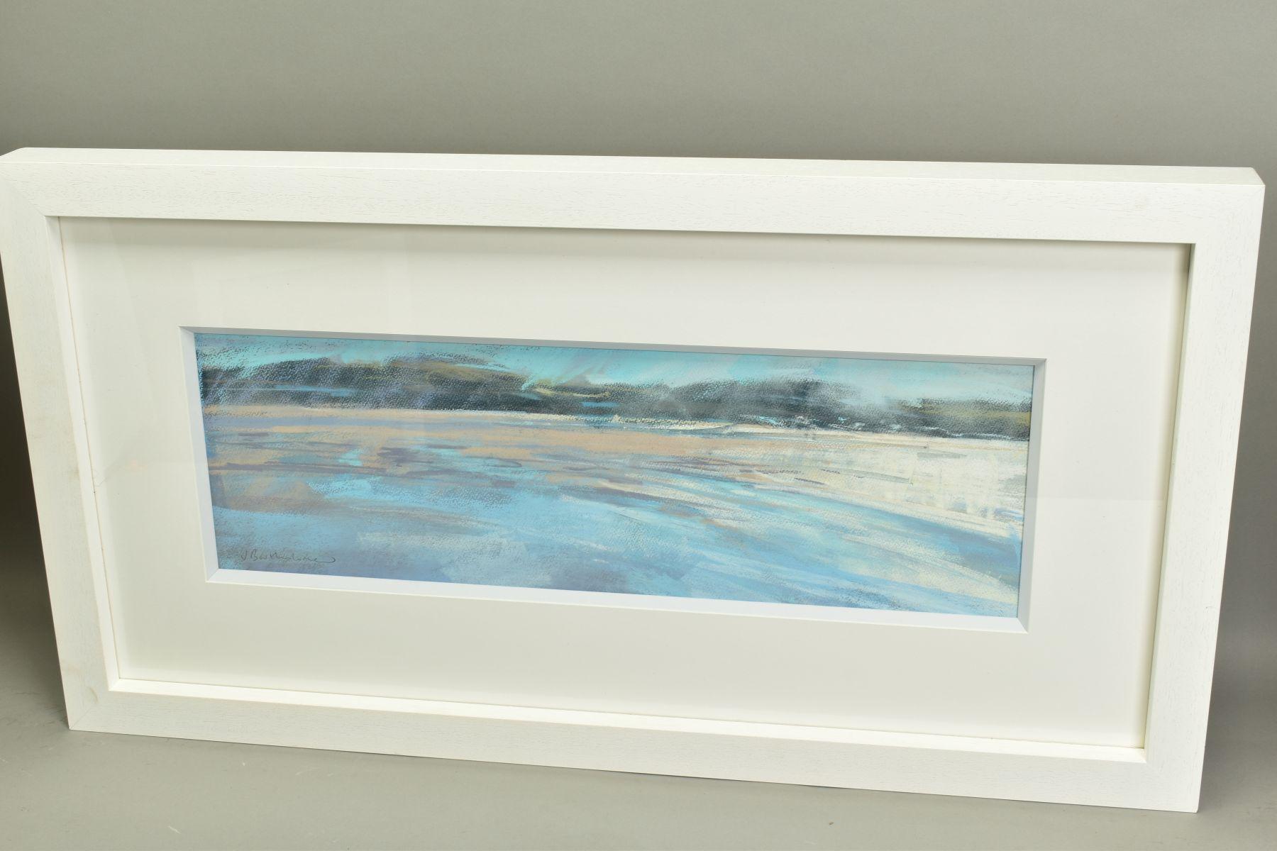 JAMES BARTHOLOMEW (BRITISH CONTEMPORARY), 'Shining Bay', a coastal landscape, signed bottom right, - Image 5 of 6