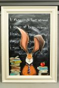 JENNIFER HOGWOOD (BRITISH 1980), 'I Must Note Hare Around', a comical depiction of a Hare, signed