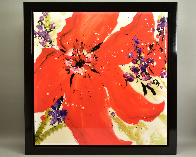DANIELLE O'CONNOR AKIYAMA (CANADA 1957), 'Journey I', a Limited Edition print of blossom, 36/195,