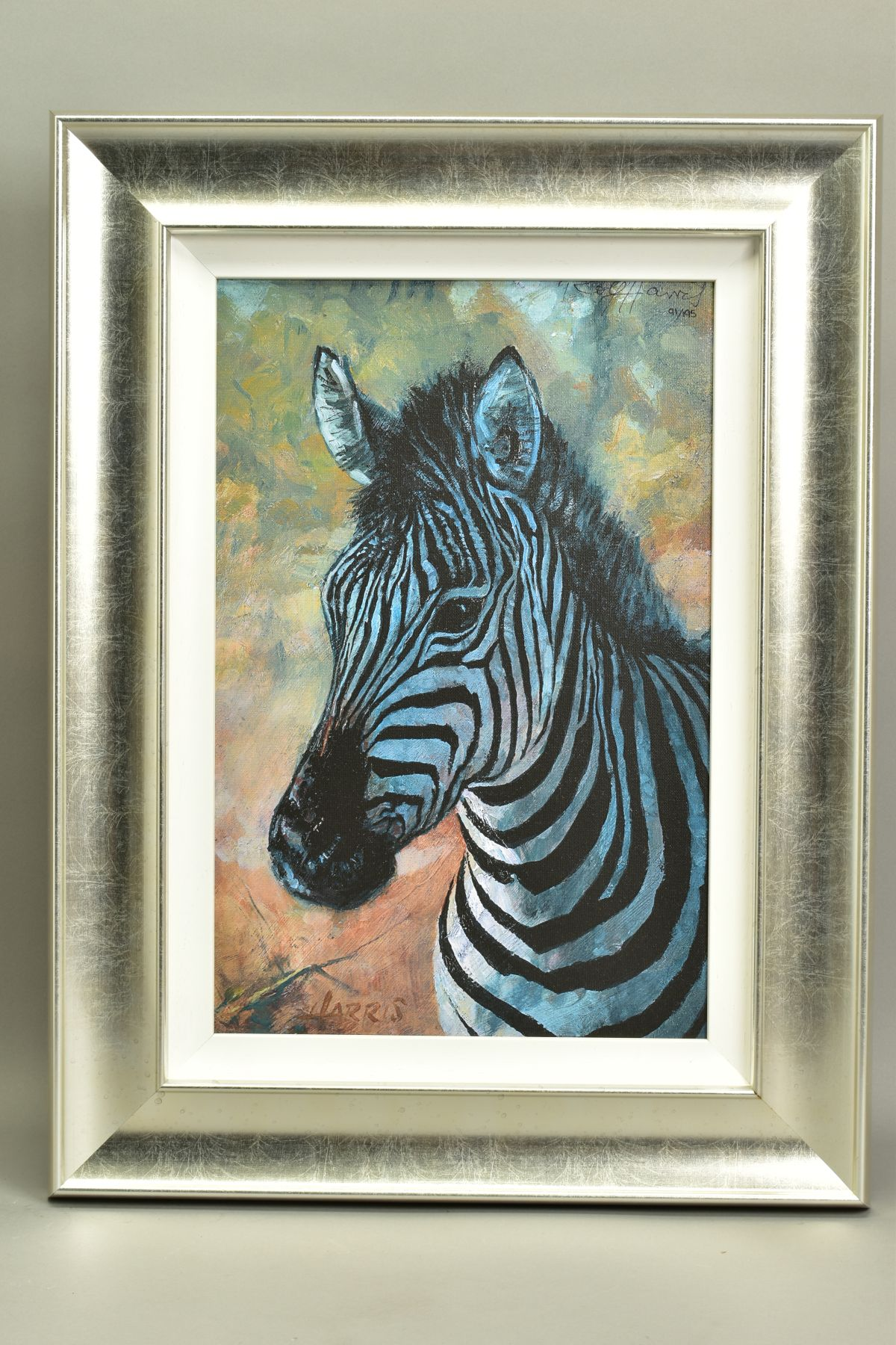 ROLF HARRIS (AUSTRALIAN 1930), 'Young Zebra', a Limited Edition print, 91/195, signed top right with