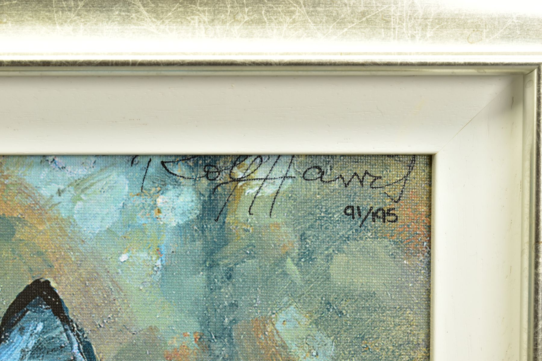 ROLF HARRIS (AUSTRALIAN 1930), 'Young Zebra', a Limited Edition print, 91/195, signed top right with - Image 3 of 5