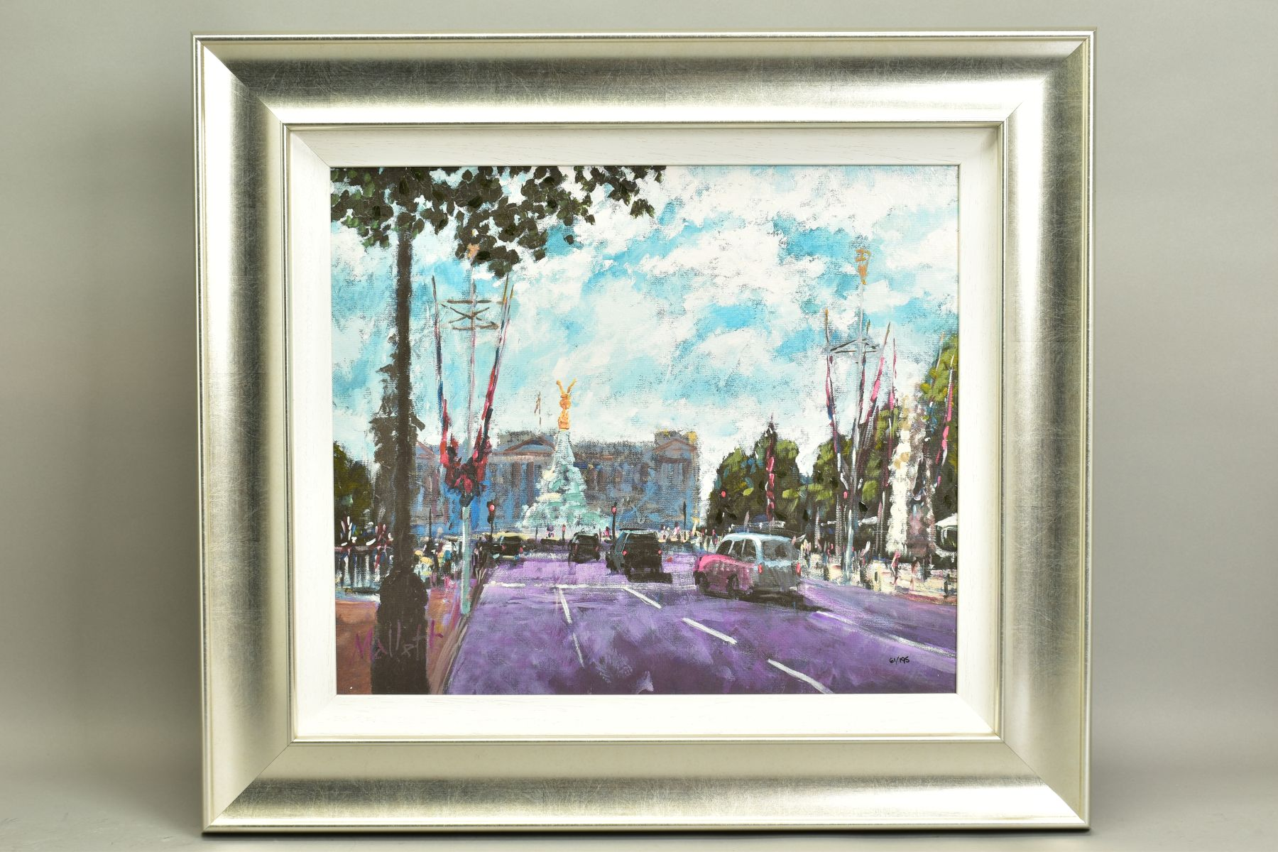 TIMMY MALLETT (BRITISH CONTEMPORARY), 'Celebrating On The Mall', a Limited Edition print of a London