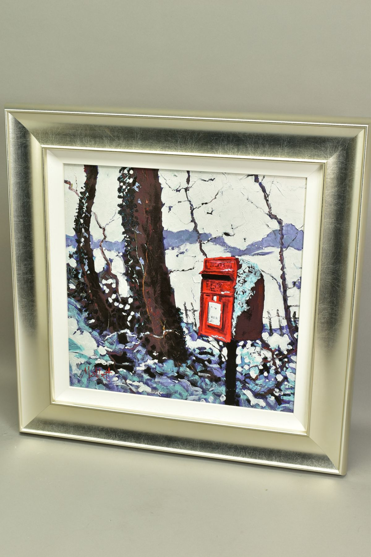 TIMMY MALLETT (BRITISH CONTEMPORARY), 'Snowy Post Box', a Limited Edition print, 26/195, signed - Image 4 of 5