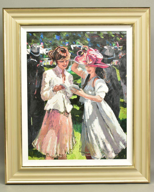 SHERREE VALENTINE DAINES (BRITISH 1959), 'Royal Ascot, Ladies Day II', a Limited Edition print, 60/
