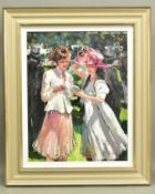 SHERREE VALENTINE DAINES (BRITISH 1959), 'Royal Ascot, Ladies Day II', a Limited Edition print, 60/