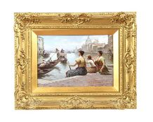 VERY FINE GILT FRAMED OIL PAINTING - ANTONIO PAOLETTI
